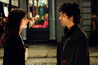 Anne Hathaway and Adrian Grenier in