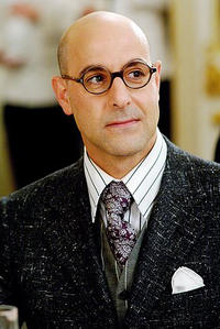 Stanley Tucci stars as Nigel Kipling, Fashion Director for Runway magazine in