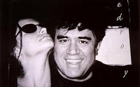 Penelope Cruz and Pedro Almodovar, director of