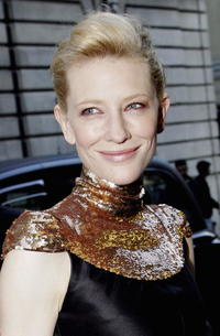 Actress Cate Blanchett at the