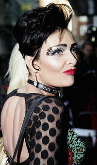 Singer Siouxsie Sioux at the