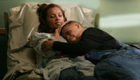 Vanessa Williams as L'Tisha and Donovan Jennings as James in