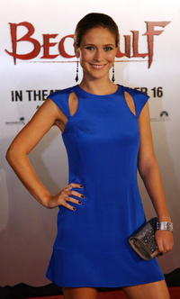 Actress Charlotte Salt at the L.A. premiere of