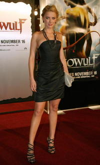 Actress Amber Heard at the L.A. premiere of