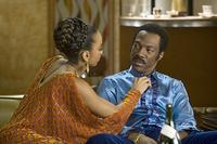 Anika Noni Rose and Eddie Murphy in