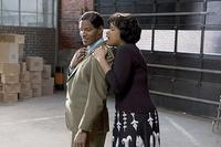 Jamie Foxx and Jennifer Hudson in