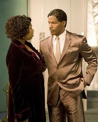 Jennifer Hudson and Jamie Foxx in