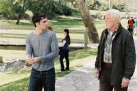 Scott Mechlowicz and Nick Nolte in