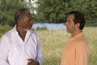 Morgan Freeman and Steve Carell in