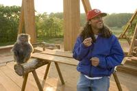 Director Tom Shadyac on the set of