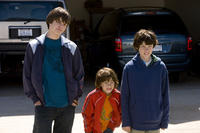Johnny Simmons, Jimmy Bennett and Graham Phillips in