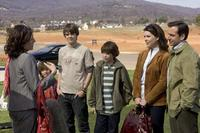 Jimmy Bennett, Johnny Simmons, Graham Phillips, Lauren Graham and Steve Carell in