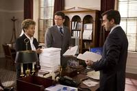 Wanda Sykes, John Michael Higgins and Steve Carell in