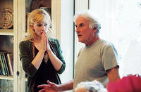 Cate Blanchett and director Richard Eyre on the set of