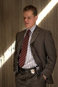 Matt Damon stars as Colin Sullivan, a rising star in the Massachusetts State Police Department, in