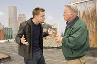 Leonardo DiCaprio and Martin Sheen in