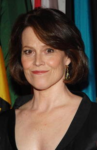 Actress Sigourney Weaver at the N.Y. premiere of