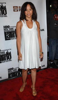 Actress Rosie Perez at the pre-screening party of