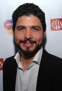 Director Alejandro Gomez Monteverde at the pre-screening party of