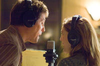 Alex Fletcher (Hugh Grant) and Sophie Fisher (Drew Barrymore) record a demo of their song in