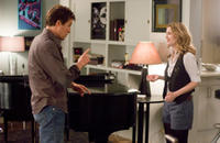 Hugh Grant and Drew Barrymore in a scene from