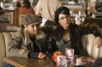 Assassin Sharice Watters (Taraji Henson) and her partner, Georgia Sykes (Alicia Keys), discuss business in