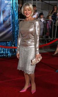 Actress Helen Mirren at the L.A. premiere of
