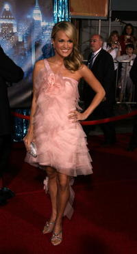 Singer Carrie Underwood at the L.A. premiere of