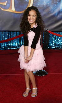 Actress Madison Pettis at the L.A. premiere of