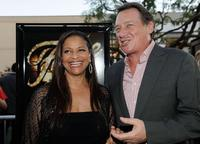 Debbie Allen and producer Gary Lucchesi at the California premiere of