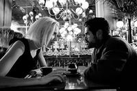 Angela (Rie Rasmussen) tells André (Jamel Debbouze) who she really is in