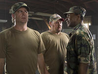 Bill Engvall, Larry The Cable Guy and Keith David in