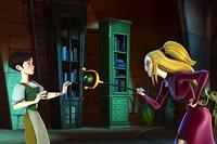 Ella (voiced by Sarah Michelle Gellar) and Frieda (voiced by Sigourney Weaver) in