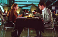 Mandy Moore and Tom Everett Scott in