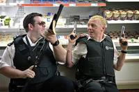 Nick Frost and Simon Pegg in