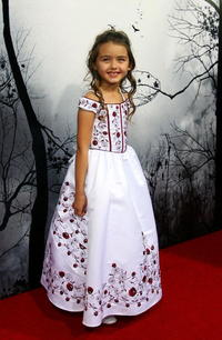 Actress Shyanne McClure at the Hollywood premiere of