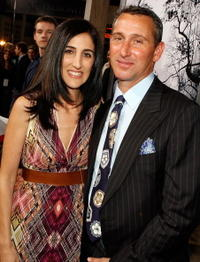 Producers Jennifer Gibgot and Adam Shankman at the Hollywood premiere of