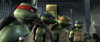 Raphael, Leonardo, Michelangelo and Donatello in