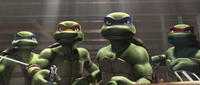 Leonardo, Michelangelo, Donatello and Raphael in
