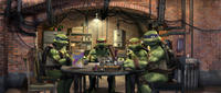 Leonardo, Raphael, Michelangelo and Donatello in