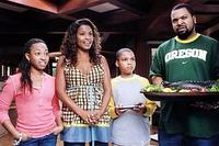 Aleisha Allen, Nia Long, Philip Bolden and Ice Cube in