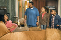 Nia Long, Ice Cube, Aleisha Allen and Philip Bolden in