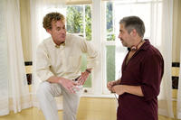 John C. McGinley and director Steve Carr on the set of