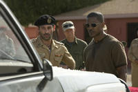 Ashraf Barhoum and Jamie Foxx in