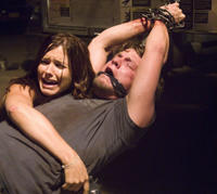 Sophia Bush and Zachary Knighton in