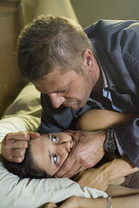 Sean Bean and Sophia Bush in