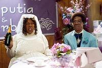 Rasputia and a miserable Norbit (both Eddie Murphy) in