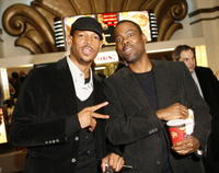 Marlon Wayans and Chris Rock at the Los Angeles premiere of