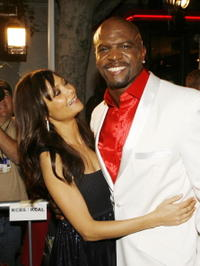 Thandie Newton and Terry Crews at the Los Angeles premiere of