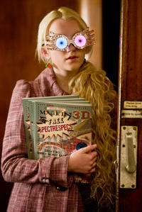 Evanna Lynch as Luna Lovegood in
